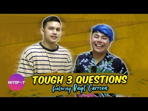 Hotspot 2018 Episode 1582: Rayt Carreon sumabak sa Tough 3 Questions