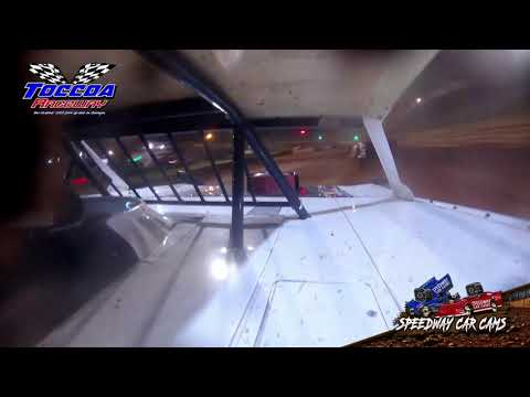 #6 Mark Wilbanks - Limited Late Model - 9-5-21 Toccoa Raceway - In-Car Camera - dirt track racing video image