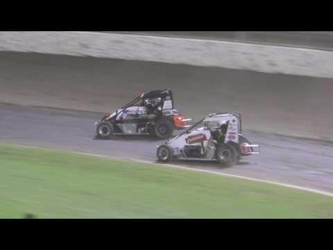 Midget Feature 25 Feb 17 - dirt track racing video image