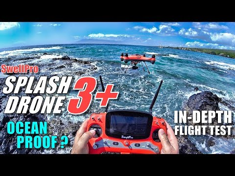 SwellPro Waterproof SPLASH DRONE 3+ Plus Review - Part 2 - Flight & CRASH Test! - Ocean Proof? - UCVQWy-DTLpRqnuA17WZkjRQ