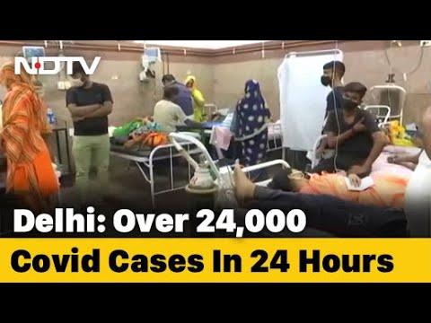 24,000 Cases In Delhi Today, Short On Oxygen, Beds: Arvind Kejriwal