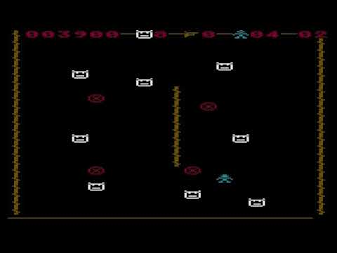 Cross Chase update for Atari computers