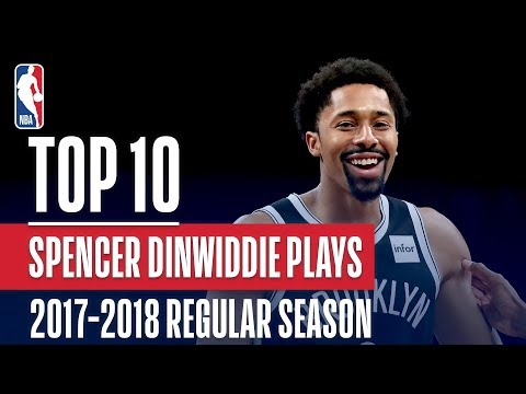 Spencer Dinwiddie's Top 10 Plays of the 2017-2018 NBA Regular Season