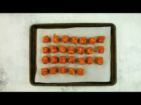 You'll Want to Make These Crunchy Sweet Potato Tater Tots for Your Next Party