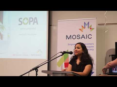 SOPA Alumni Celebration Night: Vibha from India