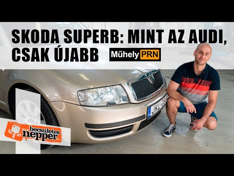 """MűhelyPRN 113: Skoda <span class=""""search-everything-highlight-color"""" style=""""background-color:orange"""">Superb</span> I. – 2004."""