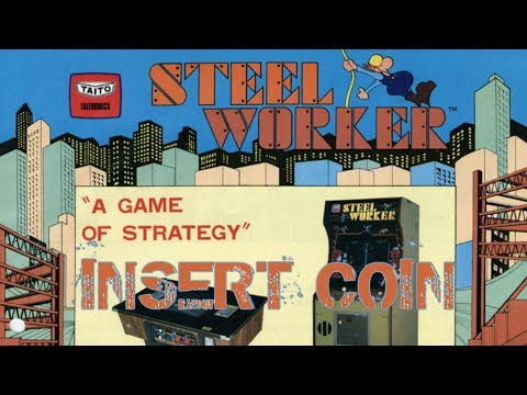 Steel Worker (1980) - Arcade