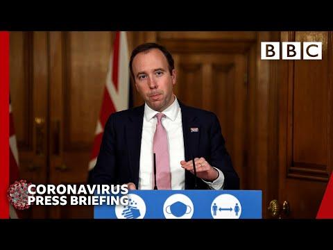 Coronavirus 'under control' but 'vigilance' needed • Covid briefing 🔴 @BBC News live – BBC