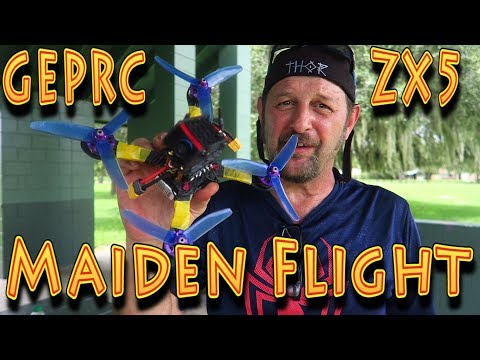 Review: RCMoment GEPrc ZX5 FPV Racing Drone Maiden Flight!!! (08.16.2017) - UC18kdQSMwpr81ZYR-QRNiDg