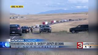 August 14th marks 5th anniversary of Deputy Joe Dunn's death