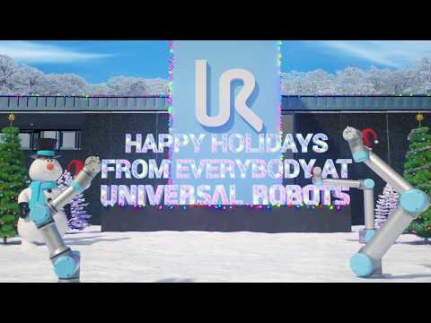 Universal Robots Happy Holidays 2017