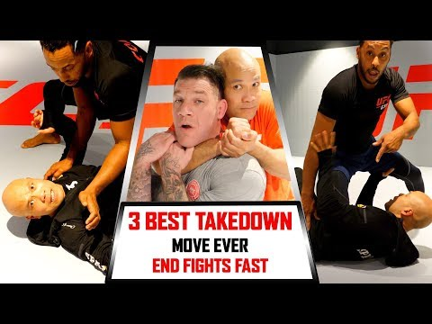 3 Best Takedown for MM | Wing Chun Master Wong