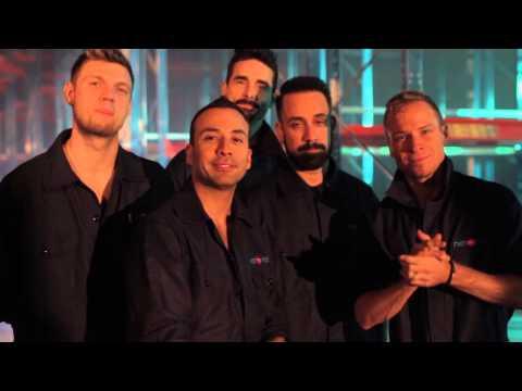 Backstreet Boys säger hej