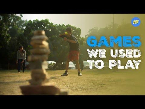 ScoopWhoop: Games We Used To Play