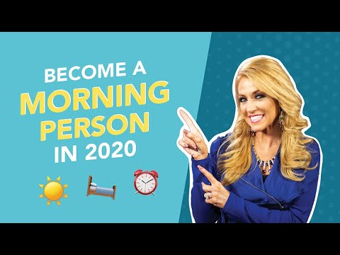 Become A Morning Person in 2020 + Printable Morning Routine Guide (DOWNLOAD NOW)