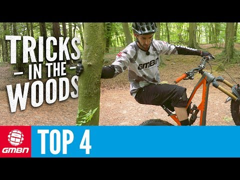 Neil's Top Four Tricks To Practise In The Woods: MTB Skills