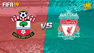 FIFA 19 | Southampton vs Liverpool - Premier League Week 2 - Full Match & Gameplay