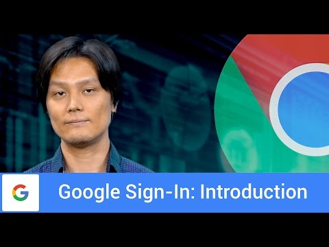 Introduction to Google Sign-In for Websites - UCnUYZLuoy1rq1aVMwx4aTzw
