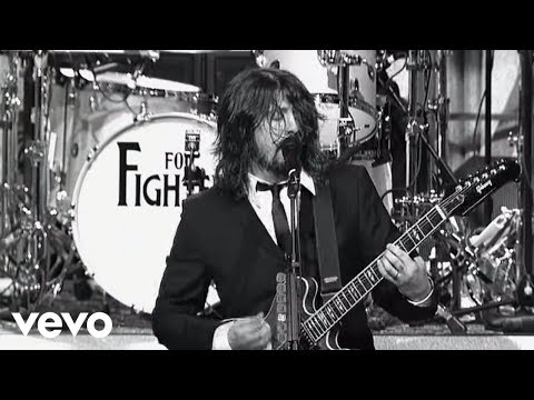 Foo Fighters - Dear Rosemary (Live on Letterman) - foofightersvevo