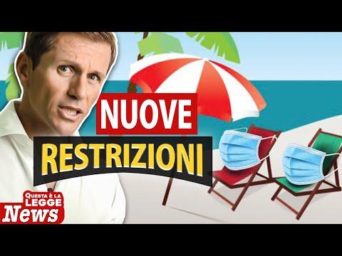 NUOVE RESTRIZIONI Covid   Avv. Angelo Greco