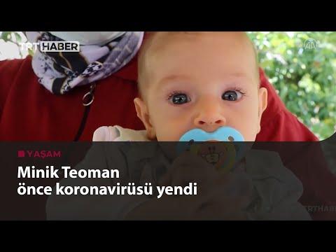 5 aylık Teoman bebek kalp ameliyatı öncesi koronavirüse yakalandı