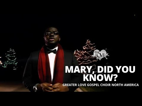 First Love Music - Mary, Did you Know? (Official Music Video)