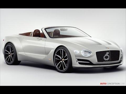 Car Design: 2017 Bentley EXP 12 Speed 6e Concept (Exterior)