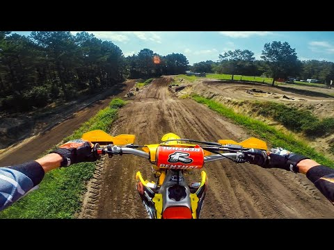 Amazing Motocross Track in the Woods!