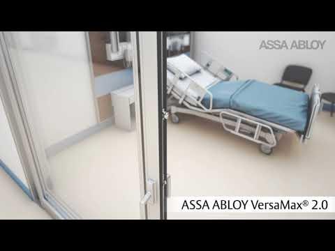 ASSA ABLOY VersaMax 2.0 ICU/CCU door – Designed for the future of healthcare