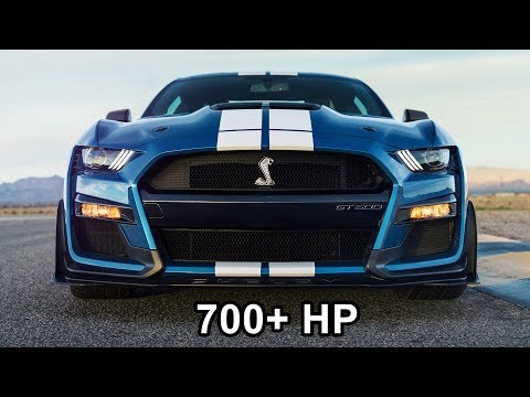 2020 Mustang Shelby GT500 - The Most Powerful Mustang Ever for Street, Track or Drag Strip!