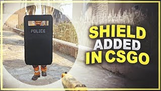 The shield is back in Counter-Strike again!