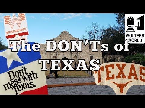 Visit Texas - The DON'Ts of Visiting Texas - UCFr3sz2t3bDp6Cux08B93KQ