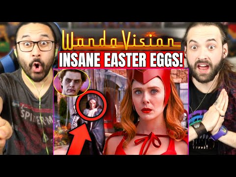 WANDAVISION EPISODE 6 EASTER EGGS & BREAKDOWN   REACTION!! (1x6 Details You Missed   Quicksilver)