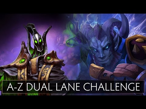Dota 2 A-Z Dual Lane Challenge - Rikimaru and Rubick - default
