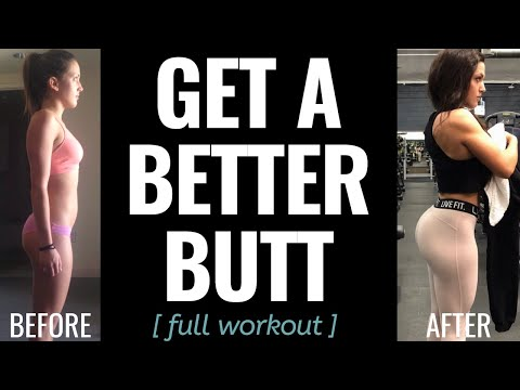 GET A BETTER BUTT // Full Workout + PREP WITH ME: Episode 10