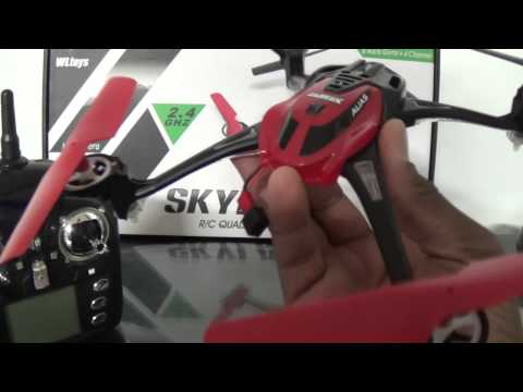 WLToys V636 Review & Outdoor Flight Demo - UCNUx9bQyEI0k6CQpo4TaNAw