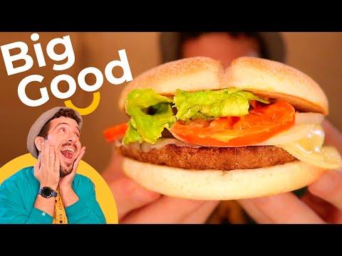¡BIG GOOD de McDonalds! Una hamburguesa de McDonald's creada para ayudar a productores y ganaderos