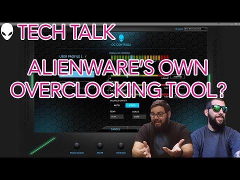 alienware overclock tools