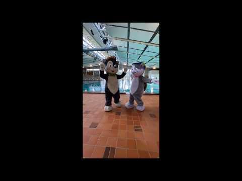 Pelle & Maja utmanar, del 3 - Balansera mjukisdjur