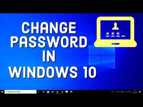 How to Change Your Windows 10 Password (2021)