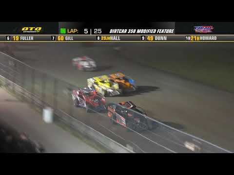 Can-Am Speedway   DIRTcar 358-Modified Feature Highlights   8/06/21 - dirt track racing video image
