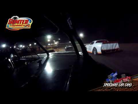 #11 Brayden Roark - Stock 8 - 9-18-21 Sumter Speedway - In-Car Camera - dirt track racing video image