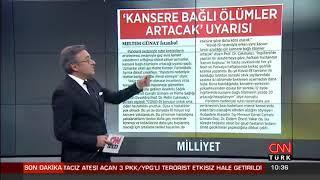 Prof. Dr. Metin Çakmakçı - COVID 19 ve kanser ilişkisi - CNN Türk