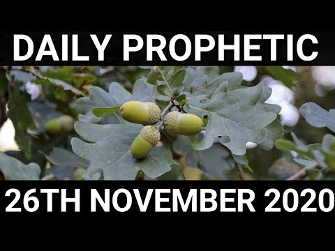Daily Prophetic 26 November 2020 12 of 12