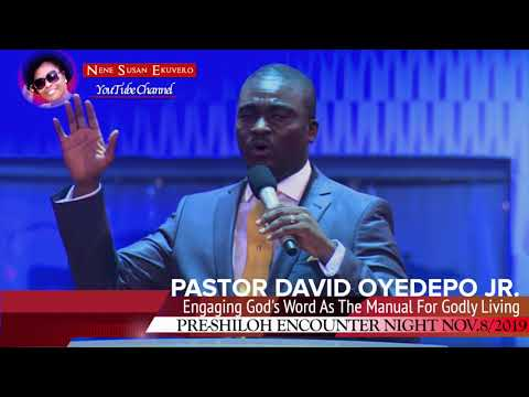 Pastor David Oyedepo Jr.Engaging God's Word As The Manual For Godly Living