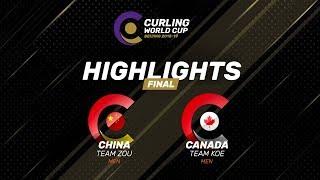 HIGHLIGHTS: China v Canada – Men's final - Curling World Cup Grand Final - Beijing, China