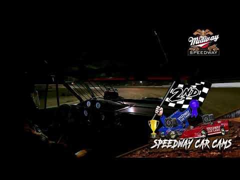 #54 David Hendrix - Usra Stock Car - 9-10-2021 Midway Speedway - In Car Camera - dirt track racing video image