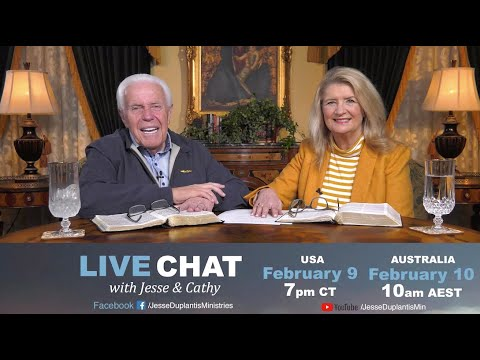Live Chat with Jesse & Cathy