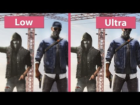 Watch Dogs 2 – PC Low vs. Ultra with Options in detail Graphics Comparison - UCy1-UfHBaFlQHDLNU9lYiyQ