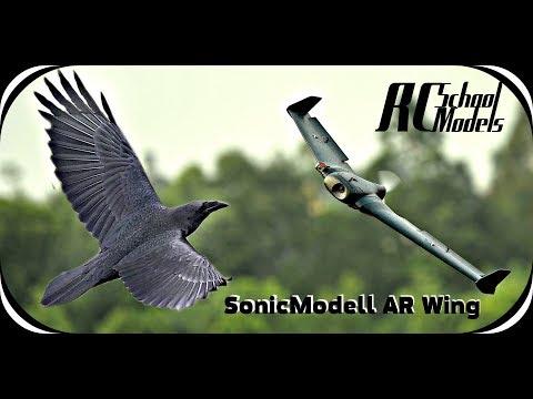 """Sonicmodell AR Wing 900mm """"Черный Ворон""""- Большой обзор и полеты. - UCrRvbjv5hR1YrRoqIRjH3QA"""
